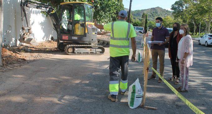 Benicàssim mejora la movilidad en el acceso al cementerio