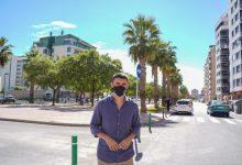 Castelló guanya més espai per al vianant en el bulevard Blasco Ibáñez i pacifica l'entorn