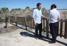 La platja canina de Castelló reobri amb millores