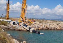 Castelló ultima les obres de reparació de l'emissari submarí de la xarxa de sanejament