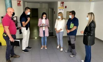 Almassora firma el contrato para iniciar las obras del Ateneu Jove por 148.000 euros