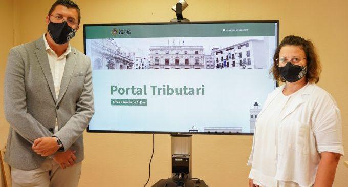 Castelló llança el nou Portal Tributari que facilita a la ciutadania les gestions i consultes