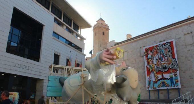 Els escolars de Borriana tornen a ser protagonistes en el dia de la 'plantà'