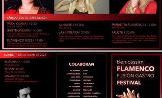 Benicàssim amplia els espais del Festival de Flamenc