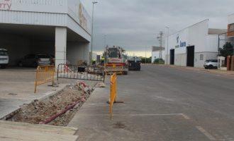 Nules mejora los polígonos industriales de la Senda Mediana, la Mina y Cardanelles