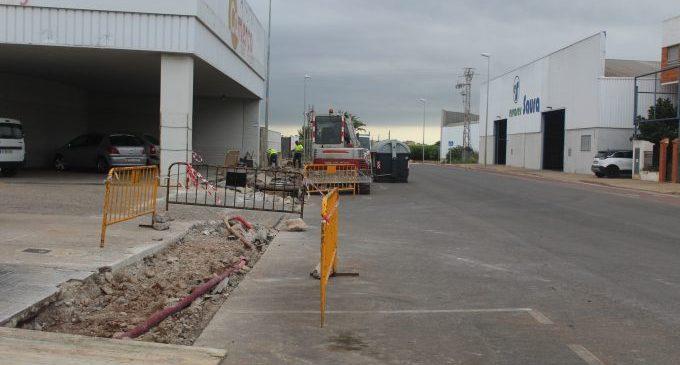 Nules millora els polígons industrials de la Senda Mitjana, la Mina i Cardanelles