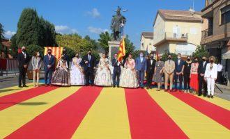 Nules celebra una procesión cívica para commemorar la festividad del 9 de Octubre