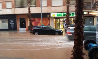 El PP pide al equipo de gobierno que reactive el plan de aguas pluviales para evitar inundaciones en los puntos negros de Vila-real