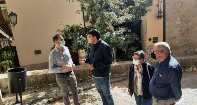 La Diputació quadruplica la seua inversió a Morella en 2021 respecte a 2019, en aconseguir la xifra de 802.500 euros
