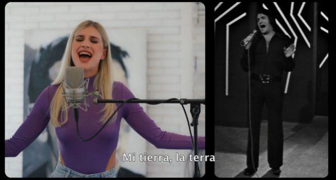 Nino Bravo i Samantha cantaran junts 'Mi tierra' en À Punt