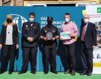 La Policia Local d'Almenara recull el Premi als Serveis Policials per Protecció Animal a Madrid
