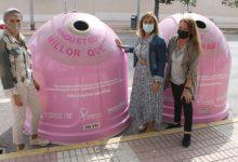 Benicàssim mostra el seu suport a la investigació oncològica a través del reciclatge