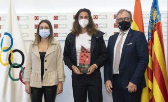 """Martí ensalza a los deportistas olímpicos castellonenses: """"Sois un espejo donde muchos jóvenes pueden mirarse"""""""