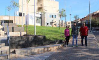 L'Alcora suma una nueva zona 'verde y accesible' en la avenida Corts Valencianes