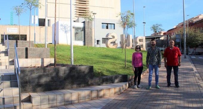 L'Alcora suma una nova zona 'verda i accessible' a l'avinguda Corts Valencianes