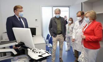 """Puig destaca el """"esfuerzo inversor"""" del Consell en la modernización de las infraestructuras sanitarias"""