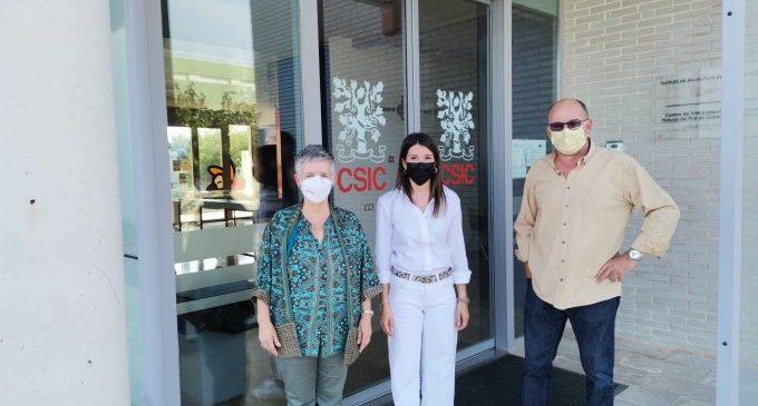 La Diputació de Castelló i el CSIC uneixen forces per a aprofundir en la investigació en l'Institut d'Aqüicultura de Torre la Sal