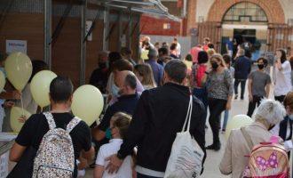 Èxit de participació en la fira del llibre 2021 a Borriana