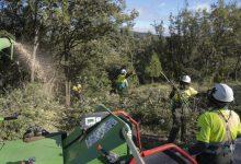 La Diputació i la Generalitat inverteixen 1,8 milions d'euros en les brigades de mitigació per a reforçar la seguretat dels habitatges dels pobles en cas d'incendi forestal