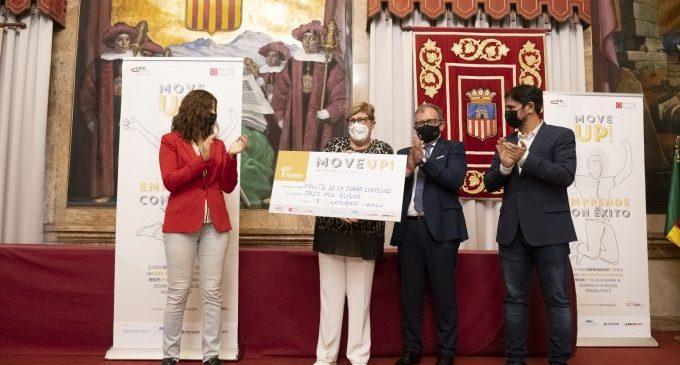 La Diputació premia i impulsa amb 'Move Up' tres projectes d'emprenedoria de la província