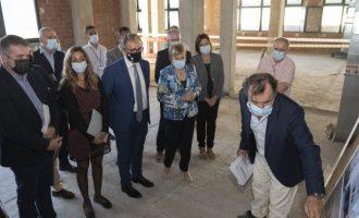 """Martí: """"Hoy es un gran día para Castelló por el inicio de las obras del nuevo edificio oncológico del Hospital Provincial"""""""