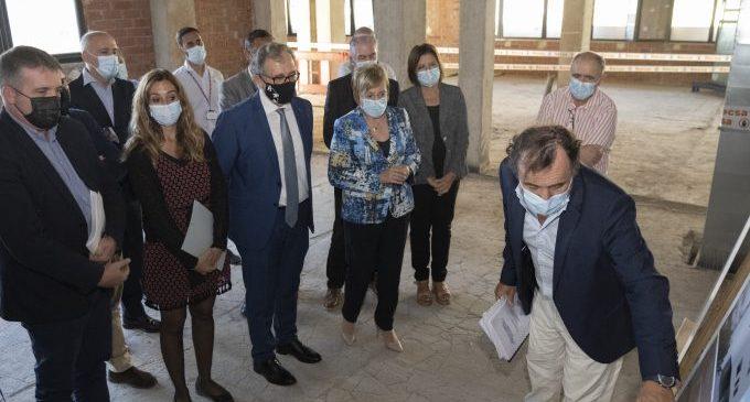 """Martí: """"Hui és un gran dia per a Castelló per l'inici de les obres del nou edifici oncològic de l'Hospital Provincial"""""""