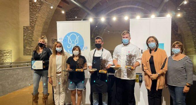 El restaurant Mar Blava guanya el primer Concurs del Pinxo de Polp a Caduf i Peix de Llotja de Benicarló